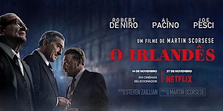 O Irlandês - Cinemateca Brasileira - São Paulo - Quinta-feira (12/12) 19H30 ingressos
