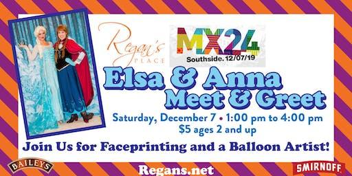 Elsa & Anna Meet & Greet