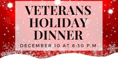 Veterans Holiday Dinner, hosted by David Price Center