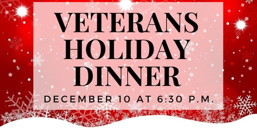 Veterans Holiday Dinner, hosted by Ozzie Smith Centers