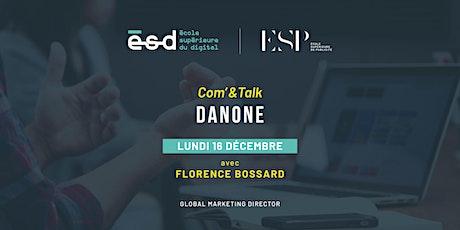 Conférence Com'&Talk | Danone billets