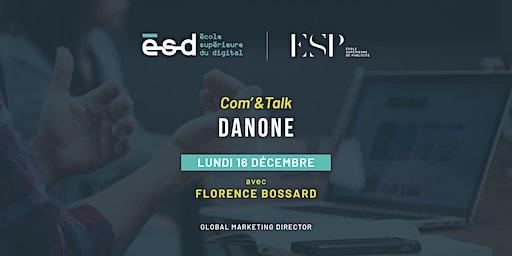 Conférence Com'&Talk | Danone