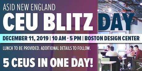 CEU Blitz Day tickets