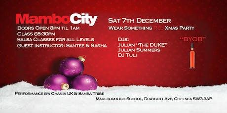 Mambo City Christmas Party tickets