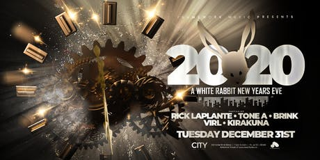 2020 New Year's Eve at City at Night White Rabbit till 6am tickets