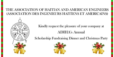 ADIHA's Annual Scholarship Fundraising Dinner and Christmas Party -12/21/19 tickets