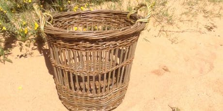 Willow Weaving Workshop with Wyldwood Willow - a fitched basket tickets