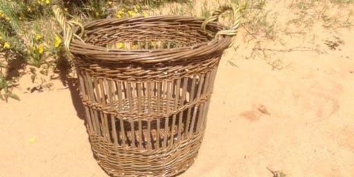 Willow Weaving Workshop with Wyldwood Willow - a fitched basket