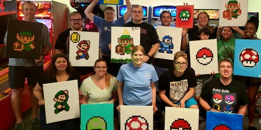 Geektastic Painting Party - Holiday Edition