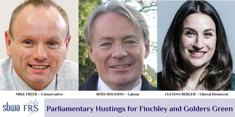 Parliamentary Hustings: Finchley and Golders Green tickets