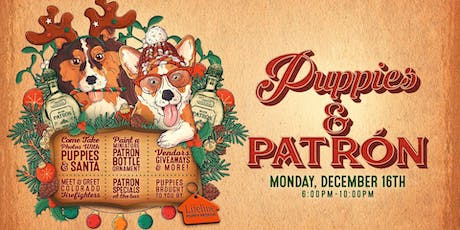 Puppies and Patron Holiday Happy Hour tickets