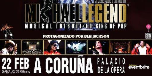 MICHAEL LEGEND JACKSON TRIBUTE en el Palacio de la Ópera de A Coruña
