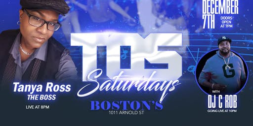 TOS SATURDAYS featuring  The Tanya Ross Project &