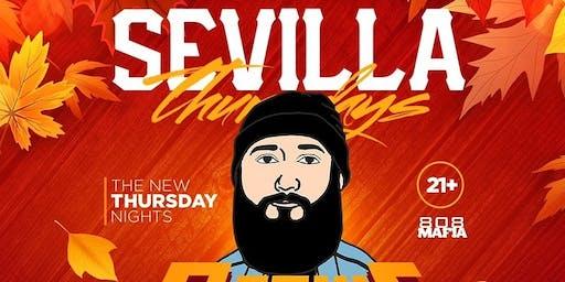 Sevilla Night club Thursdays