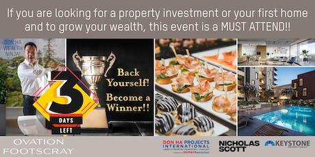 Meet Don Ha, Wealth Ninja & discover Ovation Residences tickets