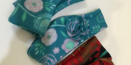 Intro to Sewing – Fleece headband, hat and/or and fingerless gloves tickets