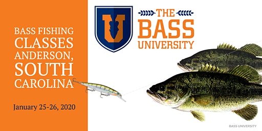 The Bass University Fishing Classes - Anderson, South Carolina