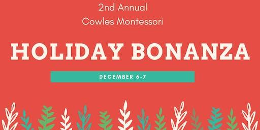 Cowles Holiday Bonanza