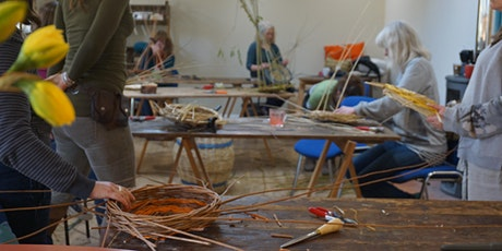 Willow Weaving Workshop with Wyldwood Willow - a square lidded basket tickets