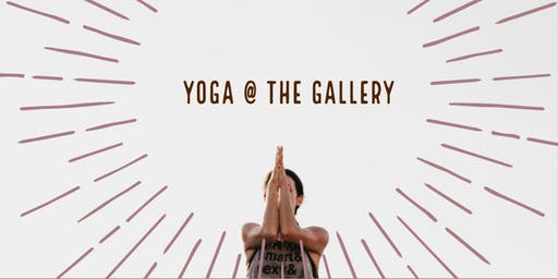 Yoga at the Gallery, Small Business Saturday!