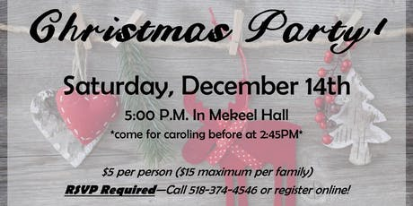 Christmas Party (& Farewell to Pastor Mike Alford) tickets