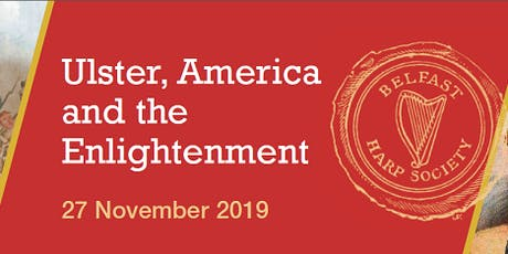 Ulster, America and the Enlightenment tickets
