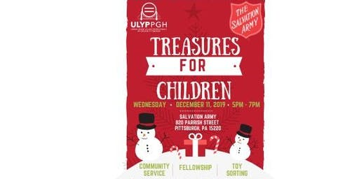 The Salvation Army of Western PA: Treasures for Children Community Service
