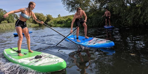 Paddleboarding River Trip For Beginners on The River Avon