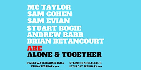 Alone & Together tickets