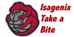 Isagenix-Take a Bite, Chance to Win a Raptor Night