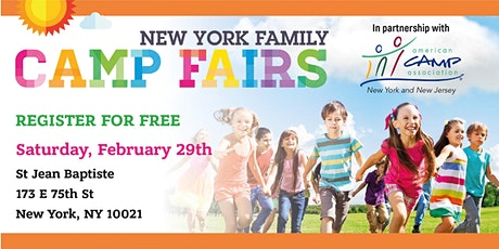 New York Family Camp Fair Upper East Side tickets