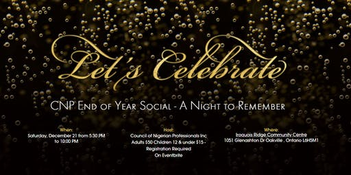 CNP End of Year Social: A Night to Remember