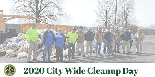 2020 City Wide Cleanup Day