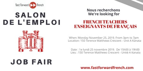Salon de l'emploi à Fast Forward French Job Fair tickets