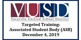 Targeted Training: Associated Student Body (ASB)