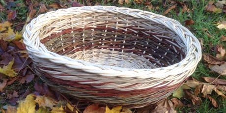 Willow Weaving Workshop with Wyldwood Willow - an oval laundry basket tickets