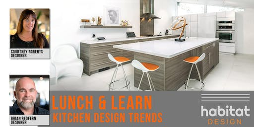 What is trending in contemporary kitchen designs?