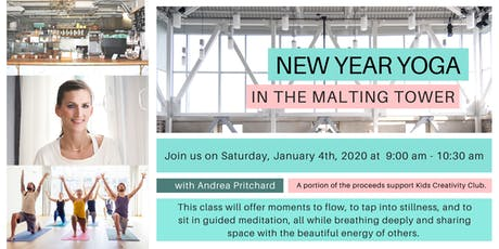 New Year Yoga in the Malting Tower  tickets