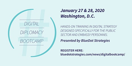 Digital Diplomacy Bootcamp tickets