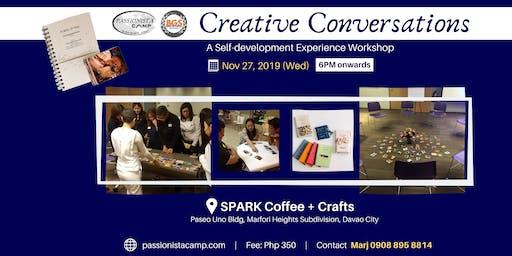 Creative Conversations - Davao [SPARK Coffee + Crafts]