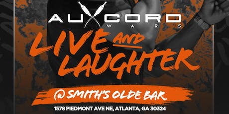 Aux Cord Wars Live and Laughter tickets