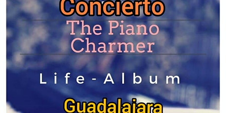 Concierto. The Piano Charmer. Seque. Guadalajara. entradas