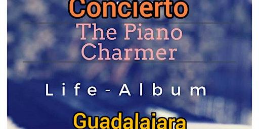 Concierto. The Piano Charmer. Seque. Guadalajara.