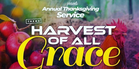 Harvest Of All Grace biglietti