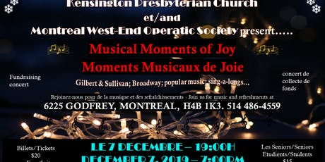 Musical Moments of Joy / Moments Musicaux de Joie tickets
