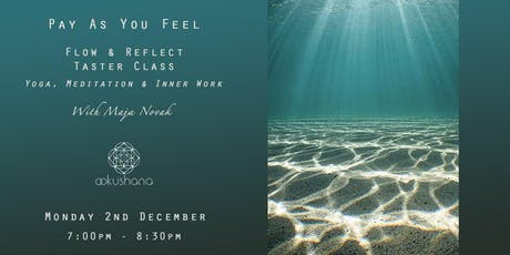 PAYF CLASS - Flow and Reflect with Maja Novak tickets