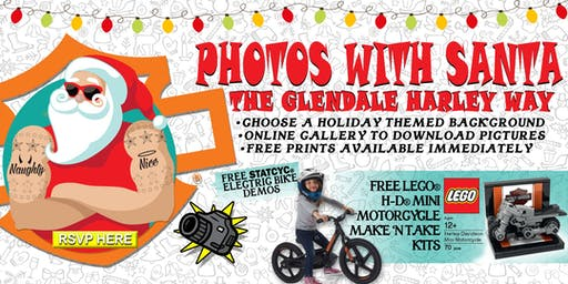 Photos With Santa : The Glendale Harley Way