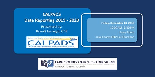 CALPADS Data Reporting 2019-2020