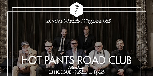 20 Jahre Otherside/Mezzanine Club mit Hot Pants Road Club Live