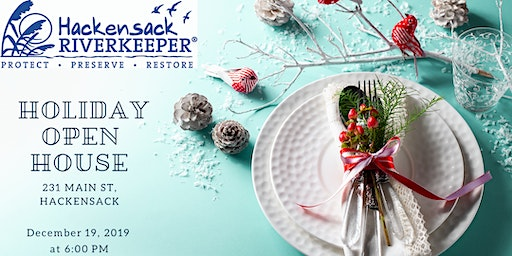 Hackensack Riverkeeper's Annual Holiday Open House